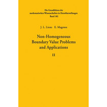Non-Homogeneous Boundary Value Problems and Applications: Volume II by Jacques-Louis Lions, 9783642652196