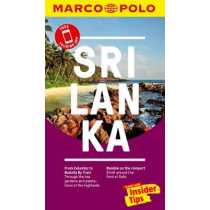 Sri Lanka Marco Polo Pocket Travel Guide - with pull out map by Marco Polo, 9783829707862