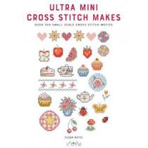 Ultra Mini Cross Stitch: Over 100 Small Scale Cross Stitch Motifs by Susan Bates, 9786059192484