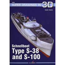 Schnellboot. Type S-38  and S-100 by Carlo Cestra, 9788365437716