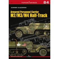 Armored Personnel Carrier M2/M3/M4 Half-Track by Slawomir Zajaczkowski, 9788366148604