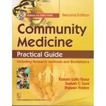 Community Medicine: Practical Guide by K.L. Gaur, 9789385915970