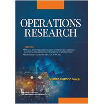 Operations Research by Sudhir Kumar Pundir, 9789389565805