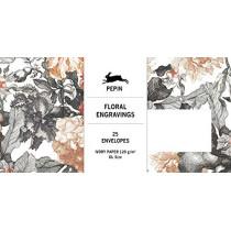 Floral Engravings: Envelopes (DL) by Pepin Van Roojen, 9789460093623