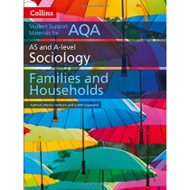 AQA AS and A Level Sociology Families and Households (Collins Student Support Materials) by Martin Holborn, 9780008221669