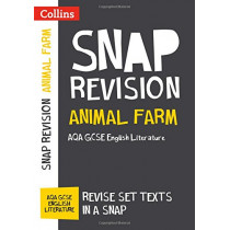 Animal Farm: New Grade 9-1 GCSE English Literature AQA Text Guide (Collins GCSE 9-1 Snap Revision) by Collins GCSE, 9780008247133
