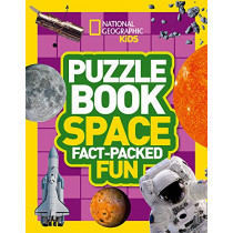 Puzzle Book Space: Brain-tickling quizzes, sudokus, crosswords and wordsearches (National Geographic Kids Puzzle Books) by National Geographic Kids, 9780008267698