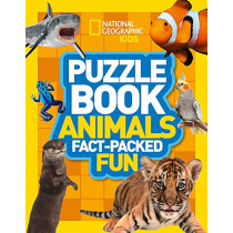 Puzzle Book Animals: Brain-tickling quizzes, sudokus, crosswords and wordsearches (National Geographic Kids Puzzle Books) by National Geographic Kids, 9780008267704