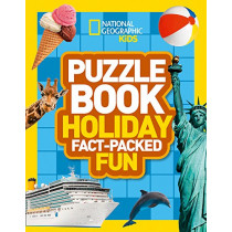 Puzzle Book Holiday: Brain-tickling quizzes, sudokus, crosswords and wordsearches (National Geographic Kids Puzzle Books) by National Geographic Kids, 9780008267711