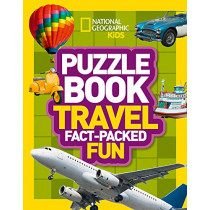 Puzzle Book Travel: Brain-tickling quizzes, sudokus, crosswords and wordsearches (National Geographic Kids Puzzle Books) by National Geographic Kids, 9780008267728