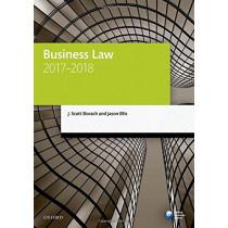 Business Law 2017-2018 by J. Scott Slorach, 9780198787686