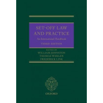 Set-Off Law and Practice: An International Handbook by William Johnston, 9780198808589