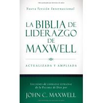 La Biblia de Liderazgo de Maxwell NVI by John C Maxwell, 9780718092542