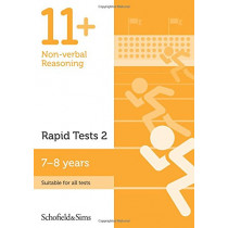 11+ Non-verbal Reasoning Rapid Tests Book 2: Year 3, Ages 7-8 by Schofield & Sims, 9780721714646