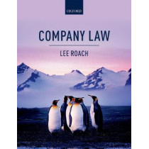 Company Law by Lee Roach, 9780198786634