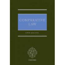 Comparative Law by Uwe Kischel, 9780198791355