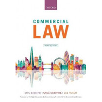 Commercial Law by Eric Baskind, 9780198825975