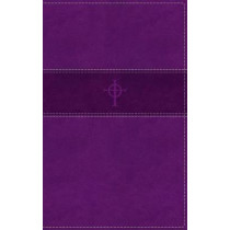 NRSV, Thinline Bible, Leathersoft, Purple, Comfort Print by Zondervan, 9780310452362