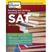Reading and Writing Workout for the SAT by Princeton Review, 9780525567943