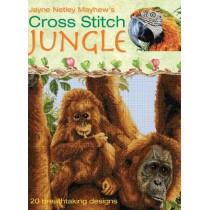 Cross Stitch Jungle: 20 Breath-taking Designs by Jayne Netley Mayhew, 9780715326442