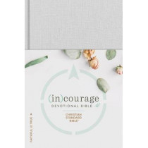 CSB (in)courage Devotional Bible, Gray Hardcover by (in)courage, 9781462785032