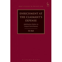 Enrichment at the Claimant's Expense by Eli Ball, 9781509928880