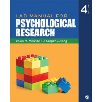 Lab Manual for Psychological Research by Dawn M. McBride, 9781544323565