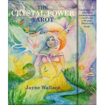 The Crystal Power Tarot: Includes a Full Deck of 78 Specially Commissioned Tarot Cards and a 64-Page Illustrated Book by Jayne Wallace, 9781782496960