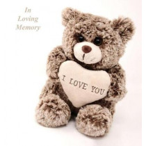 In Loving Memory Funeral Guest Book, Celebration of Life, Wake, Loss, Memorial Service, Love, Condolence Book, Funeral Home, Missing You, Church, Thoughts and in Memory Guest Book, Teddy (Hardback) by Lollys Publishing, 9781912641482