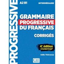 Grammaire progressive du francais - Nouvelle edition: Corriges intermedi, 9782090381047