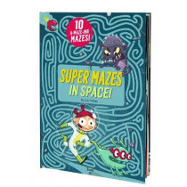 Super Mazes in Space! by Loic Mehee, 9782408007911
