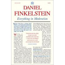 Everything in Moderation by Daniel Finkelstein, 9780008356606