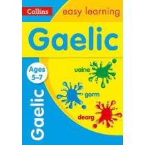 Easy Learning Gaelic Age 5-7, 9780008389437
