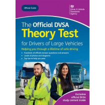 The official DVSA theory test for large vehicles by Driver and Vehicle Standards Agency, 9780115537271