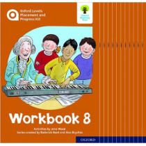 Oxford Levels Placement and Progress Kit: Workbook 8 Class Pack of 12 by Alex Brychta, 9780198445333