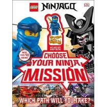 LEGO NINJAGO Choose Your Ninja Mission: With NINJAGO Jay minifigure by Simon Hugo, 9780241401279