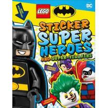 LEGO Batman Sticker Super Heroes and Super-Villains by DK, 9780241409282