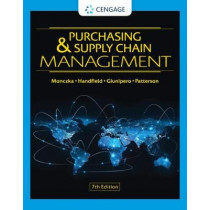 Purchasing & Supply Chain Management by Robert Monczka, 9780357442142