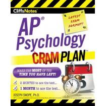 Cliffsnotes AP Psychology Cram Plan by Joseph M Swope, 9780358121831
