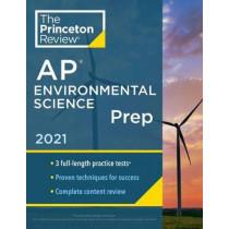 Princeton Review AP Environmental Science Prep, 2021 by Princeton Review, 9780525569541