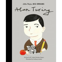 Alan Turing by Maria Isabel Sanchez Vegara, 9780711246775