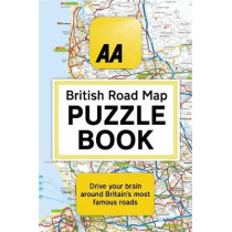 The AA British Road Map Puzzle Book: These highly-addictive brain games will make you a mapping mastermind by Helen Brocklehurst, 9780751578973