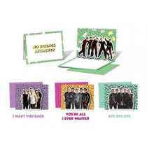 *NSYNC Pop-Up Notecards: 10 Cards and Envelopes by *NSYNC, 9780762466849