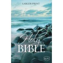 KJV, Holy Bible, Larger Print, Paperback, Comfort Print: Holy Bible, King James Version by Thomas Nelson, 9780785218005