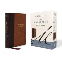 Nasb, MacArthur Study Bible, 2nd Edition, Leathersoft, Brown, Comfort Print: Unleashing God's Truth One Verse at a Time by John F MacArthur, 9780785230311