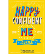 Happy Confident Me Journal: A daily journal to develop gratitude, confidence and emotional intelligence by Nadim Saad, 9780993174391