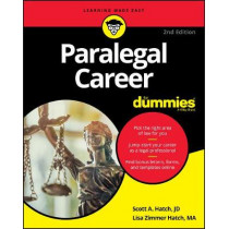 Paralegal Career For Dummies by Scott A. Hatch, 9781119564911