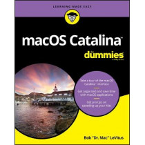 macOS Catalina For Dummies by Bob LeVitus, 9781119607885