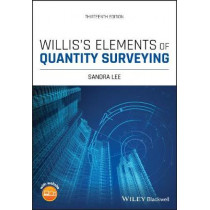 Willis's Elements of Quantity Surveying by Sandra Lee, 9781119633181