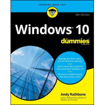Windows 10 For Dummies by Andy Rathbone, 9781119679332